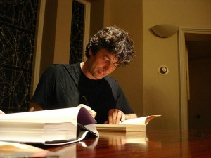 How to get published according to Neil Gaiman.