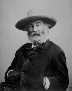 Whitman's advice on writing...