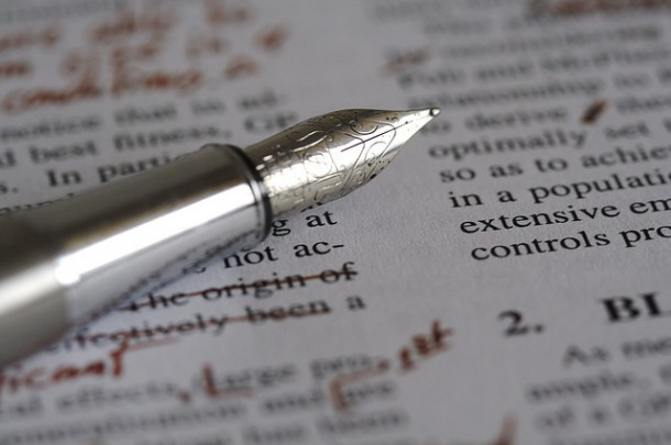 Are you ready to give your manuscript the red pen treatment?